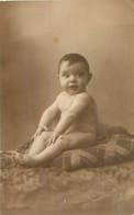 PHOTO  - Bébé  à 6 Mois Et Demi  Poids 9kg 100    27 Avril 1932   à Identifier , Voir Dos - Fotografía