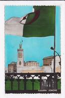 CP ALGERIE ALGER Fete Nationale Algerienne Du 1er Novembre 1962 La Place Des Martyrs Vue Du Cercle Deu Progrés - Algiers