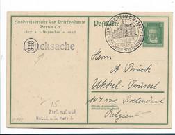 WGA212 / DEUTSCHES REICH - Postamt Berlin, 100 Jahre - Ganzsachen