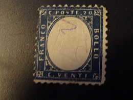 ITALIE ROYAUME 1862   -20 Centimes Dentelé SG - Gebraucht