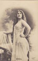 """ARTISTE .THEATRE.CPA. ANNÉES 1900."""" BRESIL """". BEAUTE. MODE. PHOTO D'ART REUTLINGER 1901 PARIS . - Künstler"""