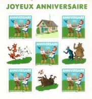 Sylvain & Sylvette, Bandes Dessinées Enfants. Joyeux Anniversaires. BF 112 Neuf **  2007 (Timbres à Validité Permanente) - Ungebraucht