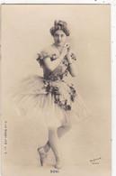"""ARTISTE .DANSE.CPA . ANNÉES 1900."""" BONI """". MODE. PHOTO D'ART REUTLINGER PARIS . - Künstler"""