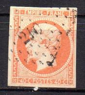Col18  France Louis Napoléon 1853  N° 16 Oblitéré  Cote 22,00€ - 1853-1860 Napoleon III
