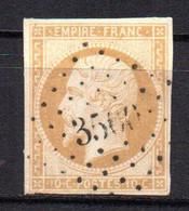 Col18  France Louis Napoléon 1853   N° 13A Oblitéré PC Cote 20,00€ - 1853-1860 Napoleon III