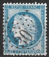 Yvert N°60A (variété) Position 125 A2-Oblitéré étoile De Paris N°30 - 1871-1875 Ceres