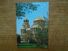 "Bulgarie , Sofia , Le Dôme - Monument "" Alexandre Nevski "" - Bulgarie"