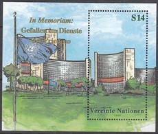 UNO WIEN  Block 11, Postfrisch **, In Memoriam, 1999 - Blocks & Kleinbögen