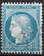 France-Yvert N°60A Variété Grande Cassure-Position 149 A2-Oblitéré - 1871-1875 Ceres