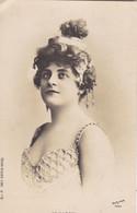 """ARTISTE. RARETE .THEATRE.CPA .ANNÉES 1900."""" DE MARGYL """".COIFFURE. PHOTO D'ART REUTLINGER PARIS . - Künstler"""