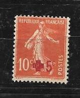 France: N°146**Semeuse Au Profit De La Croix Rouge - Ungebraucht