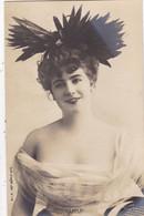 """ARTISTE. RARETE .THEATRE.CPA .ANNÉES 1900."""" TEMPLEY """".COIFFURE . PHOTO D'ART REUTLINGER PARIS . - Künstler"""