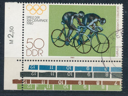RDA- JO De Moscou YT 2189 Obl./ DDR-Olympische Sommerspiele Mi.Nr. 2530 Gest. - Gebraucht