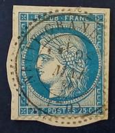 60 - 428 - Sur Papier CAD Perlé Du 28 Mai 1876 Neuvy Grandchamp 70 Saône-et-Loire - 1871-1875 Ceres