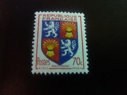 Gascogne - Armoirie De Provinces - 70c. - Rouge, Outremer Et Jaune - Neuf Sans Charnière - Année 1953 - - Ungebraucht