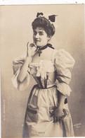 """ARTISTE .THEATRE.CPA. ANNÉES 1900."""" VALENTINE PETIT """". MODE. PHOTO D'ART REUTLINGER 1901 PARIS . - Künstler"""