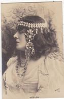 """ARTISTE. THEATRE.CPA .ANNÉES 1900."""" HEGLON """".PROFIL.  MODE. COIFFURE . PHOTO D'ART REUTLINGER PARIS . - Künstler"""
