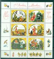 Allemagne - RDA 1984 - Y & T N. 2543/48 - Conte De Pouchkine (Michel N. 2914/19) - Blocks & Kleinbögen