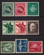 52h * DEUTSCHES REICH * 9 FEINE WERTE MIXED * MICHEL 2,10 * POSTFRISCH MIT FALZ **!! - Unused Stamps