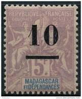 Madagascar (1902) N 49 * (charniere) - Unused Stamps