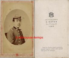 Vers 1870-CDV Par Royer à Caen-palmes Académiques, étudiant Ou Jeune  Professeur - Oud (voor 1900)