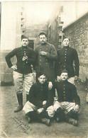Photo     -  Militaires   1917  à Identifier - Fotografía