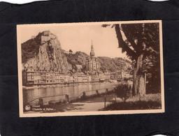 105178        Belgio,  Dinant,  Citadelle  Et  Eglise,  NV - Dinant