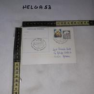 FB11916 CARTOLINA POSTALE LANCIANO 1987 TIMBRO ANNULLO XXVI FIERA DELL'AGRICOLTURA PORDUZIONE AGROALIMENTARE ABRUZZESE - 1981-90: Storia Postale