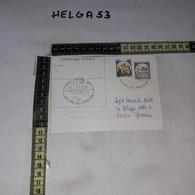 FB11918 CARTOLINA POSTALE LANCIANO 1987 TIMBRO ANNULLO XXVI FIERA DELL'AGRICOLTURA PORDUZIONE AGROALIMENTARE ABRUZZESE - 1981-90: Storia Postale
