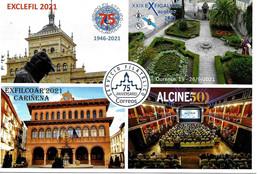 2021 Exposiciones Territoriales, Entero Postal. Ver 2 Scan - 1931-....