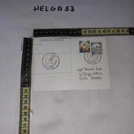 FB11919 CARTOLINA POSTALE CAPUA 1987 TIMBRO ANNUALE RITROVAMENTO REPERTO EPOCA NORMANNA ARCIVESCOVADO - 1981-90: Storia Postale