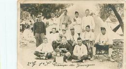 Photo     -   GROUPE DE MILITAIRES  , Camp De Garrigues    à Identifier - Fotografía