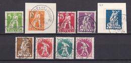 Bayern - 1920 - Michel Nr. 178/186 - Gestempelt - 30 Euro - Bayern