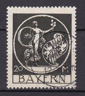 Bayern - 1920 - Michel Nr. 195 - Gestempelt - 40 Euro - Bayern