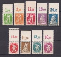 Bayern - 1920 - Michel Nr. 178/186 P OR - Postfrisch - Bayern
