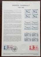 COLLECTION HISTORIQUE -  YT N°2502 - Marcel DASSAULT - SURESNES - 1988 - 1980-1989