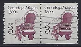 USA  1988  Conestoga Wagon  (o) Mi.1971  (Pl. Nr. 3) - Gebraucht