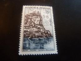 Beynac-Cazenac - 18f. - Bleu Et Brun-lilas - Oblitéré - Année 1957 - - Gebraucht