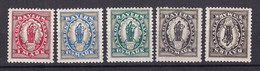 Bayern - 1920 - Michel Nr. 187/191 - Postfrisch - Bayern