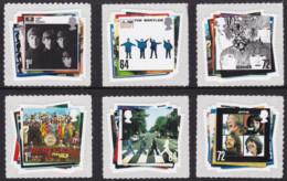 Great Britain 2007 Beatles Stamps Set Of 6 MNH - Ungebraucht