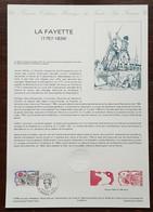 COLLECTION HISTORIQUE - YT N°2567 - LA FAYETTE / REVOLUTION - 1989 - 1980-1989