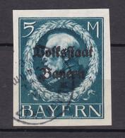 Bayern - 1920 - Michel Nr. 131 B - Gestempelt - 70 Euro - Bayern