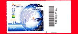 Nuovo - MNH - ITALIA - 2021 - 20 Anni Delle Agenzie Fiscali - Loghi - B - Barre 2156 - Codici A Barre
