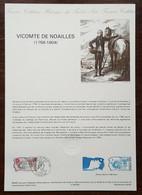 COLLECTION HISTORIQUE - YT N°2566 - VICOMTE DE NOAILLES / REVOLUTION - 1989 - 1980-1989