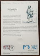 COLLECTION HISTORIQUE - YT N°2565 - MIRABEAU / REVOLUTION - 1989 - 1980-1989