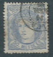 ESPAGNE SPANIEN SPAIN ESPAÑA 1870 II REPUBLIC Alegoría 50 Milésimas USED ED 107 MI 101 YT 107 SG 177 SC 166 - Used Stamps