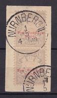 Bayern - 1876 - Portomarken - Michel Nr. 6 Paar K1 - Gestempelt - Bayern