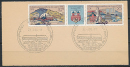 RDA-6e Exposition Philatélique De La Jeunesse YT 2191A Obl./ DDR- Briefmarkenausstellung Der Jugend Mi.Nr. 2532-33 Gest. - Gebraucht