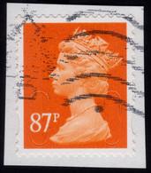 GREAT BRITAIN 2012 87p Machin MA12 - USED @Q345 - Machin-Ausgaben