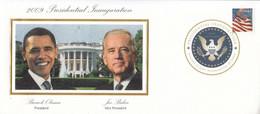 2009 USA Presidential Inauguration Obama Biden Official EVENT Cover - Schmuck-FDC